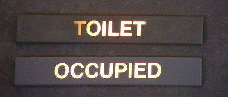 Ayahuasca a personal account part 1 of 2 aidan j reid for Bathroom occupied sign