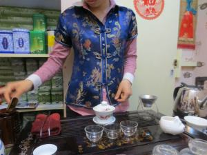 Host Preparing Tea