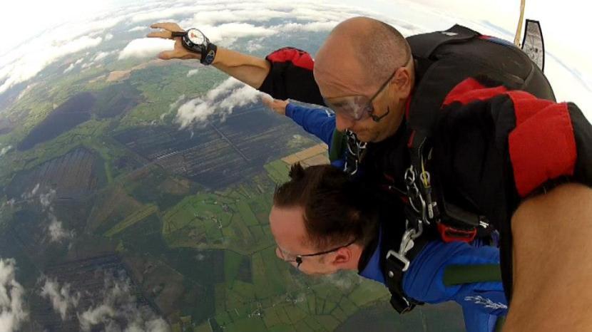 Skydiving in Ireland