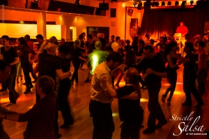 Salsa at the Garda Club in Dublin