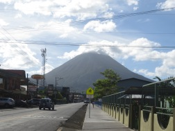 La Fortuna - Costa Rica. Decent backdrop for the townies here!