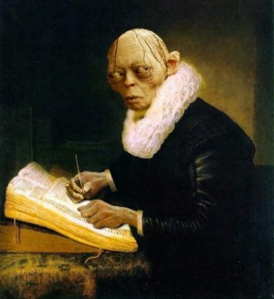Gollum writing self publishing editor