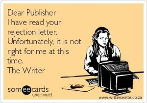 rejection letter selfpublishing