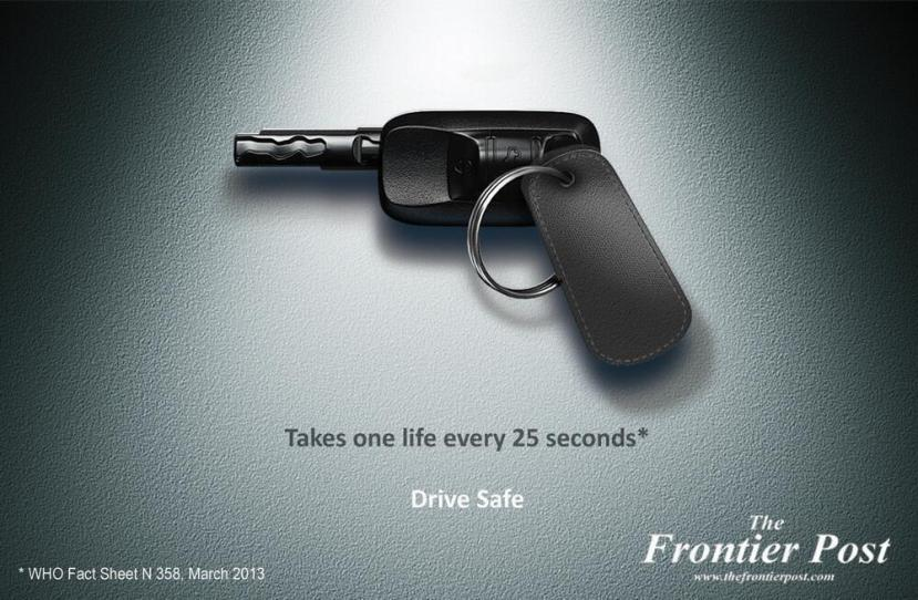 25 Amazingly Creative and Thought-Provoking Ads