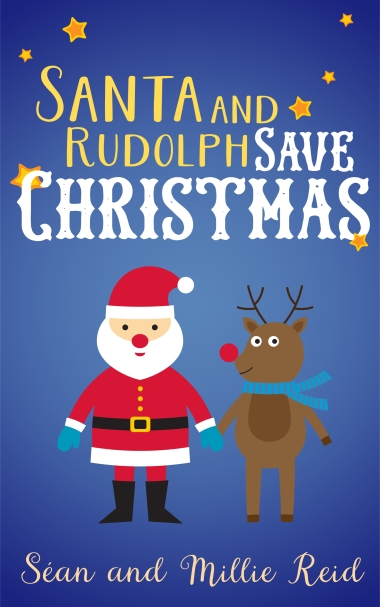 Santa and Rudolf - High Resolution